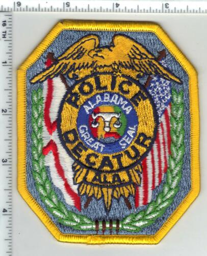 Decatur Police (Alabama) 3rd Issue Shoulder Patch