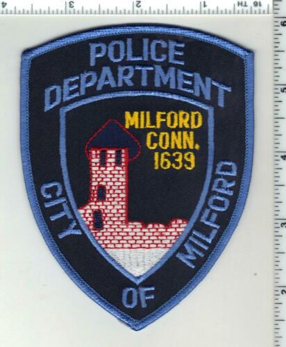 Milford Police (Connecticut) 6th Issue Shoulder Patch