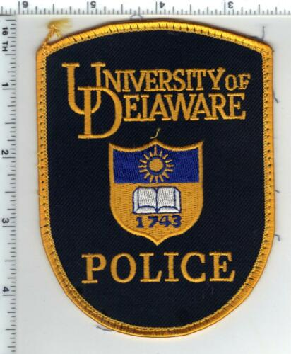 University of Delaware Police uniform take-off Shoulder Patch from the 1980