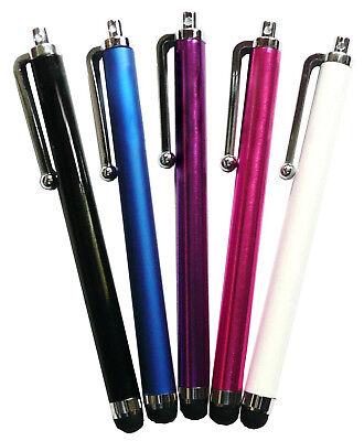 CAPACITIVO RESISTIVO touchscreen Penna stilo confezione 5 per Smartphone &