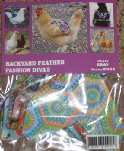TODAYS SALE 10 Chicken Saddle Apron Hen BACK FEATHER PROTECTION BACKYARD POULTRY