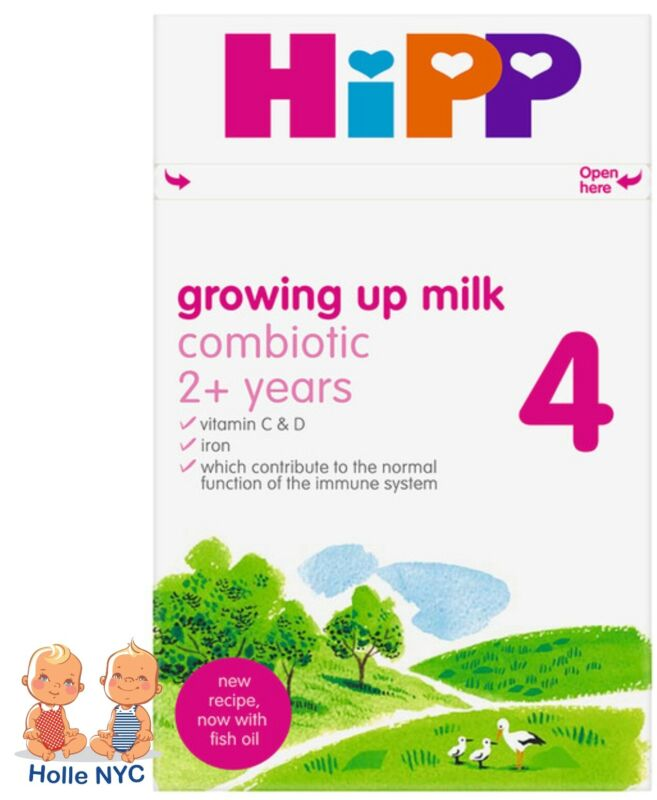 HiPP UK Stage 4 Combiotic Growing Up Milk 600g Free Shipping