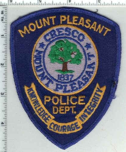 Mount Pleasant Police (South Carolina) 3rd Issue Uniform Take-Off Shoulder Patch