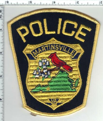 Martinsville Police (Virginia) Shoulder Patch from the 1980