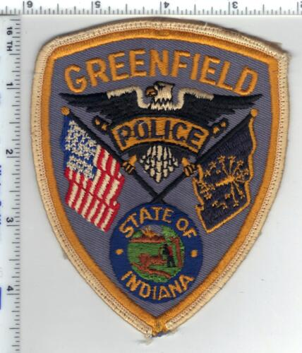 Greenfield Police (Indiana)  Shoulder Patch - new from the 1980s