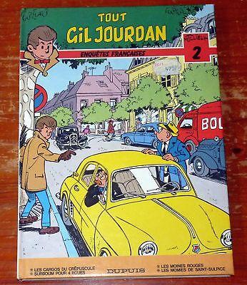 Tout Gil Jourdan 2 enquêtes françaises Tillieux
