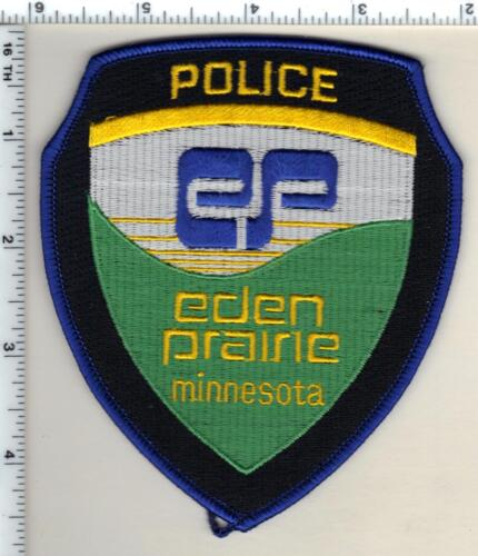 Eden Prairie Police (Minnesota)  Shoulder Patch  - new from 1991