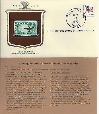 Historic Stamps of America HIGHER EDUCATION Commemorative Stamp