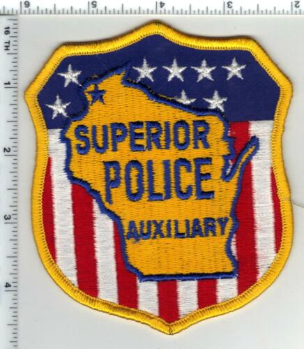 Superior Police Auxiliary (Wisconsin) 1st Issue Shoulder Patch