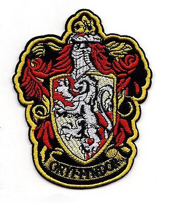 Harry Potter Gryffindor Patch Ricamato 11.4cm Altezza