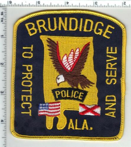 Brundidge Police (Alabama) 2nd Issue Shoulder Patch