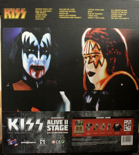 KISS Alive II Stage & Action Figures - Convention Exclusive 1051/1500 RARE