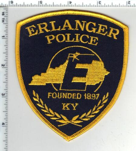 Erlanger Police (Kentucky) Shoulder Patch - from the 1980