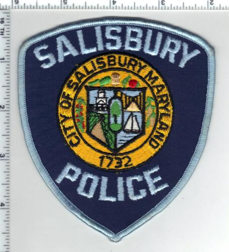 Salisbury Police (Maryland) Blue Background Shoulder Patch new from the 1980