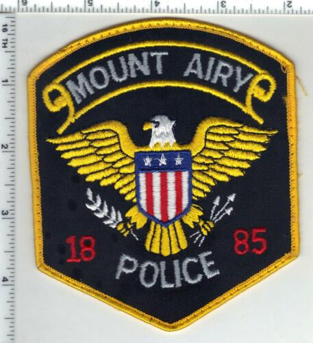 Mount Airy Police (North Carolina) 2nd Issue Uniform Take-Off Patch