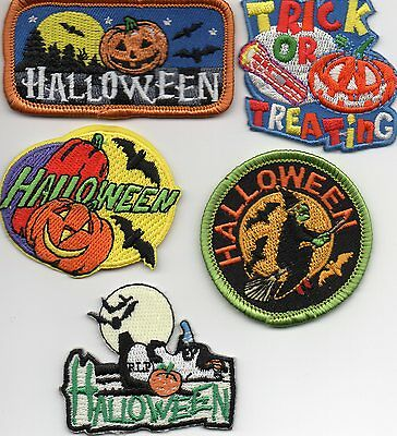 Girl/Boy Scout/Guides Patch/Crest/Badge    HALLOWEEN   (your choice) - Scout Halloween Crafts