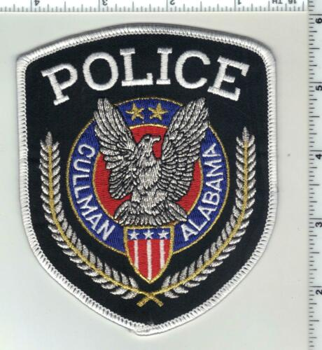 Cullman Police (Alabama) 3rd Issue Shoulder Patch