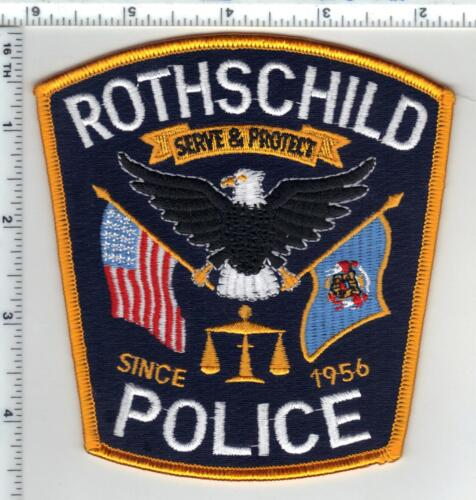 Rothschild Police (Wisconsin) 2nd Issue Shoulder Patch
