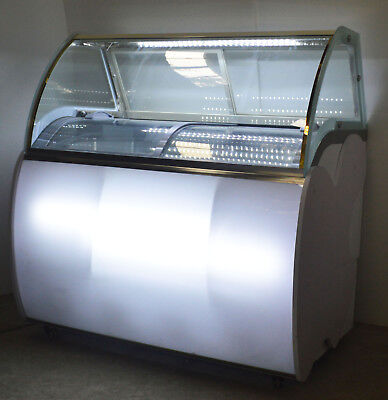 39in Commercial Popsicle Display Cabinet 220v Ice Cream Stick Ice-lolly Showcase