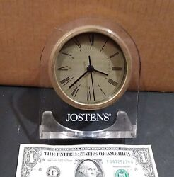 Jostens Battery Operated Table Clock