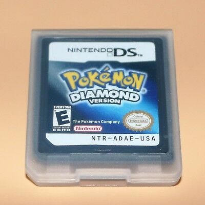 Pokemon: Diamond Version (Nintendo DS, 2007)  Game Only for DS / DSi / 3DS XL