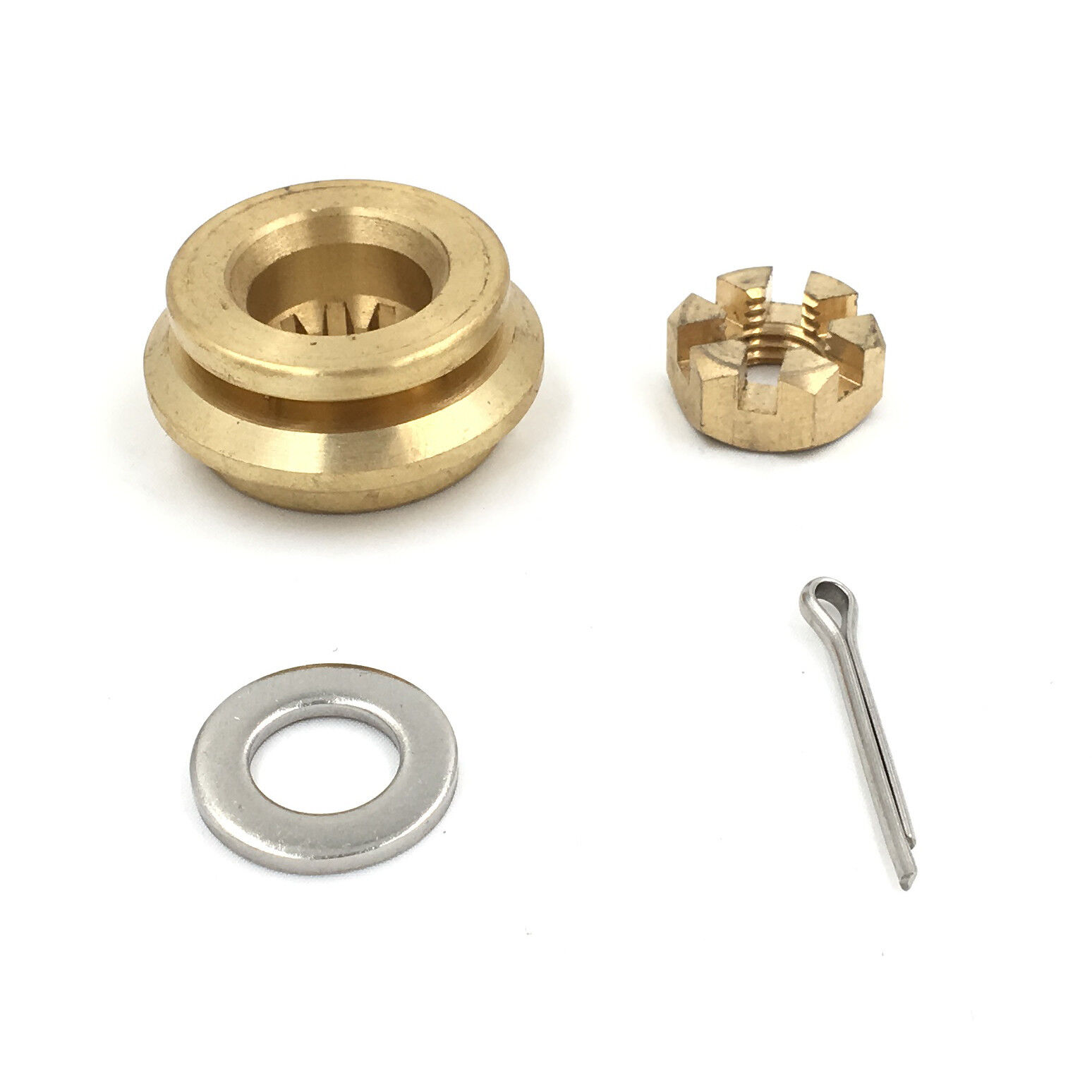 POLASTORM Hardware Kit Thrust Washer//Spacer//Nut//Cotter Pin for Propeller Honda Outboard Propeller 8-20HP