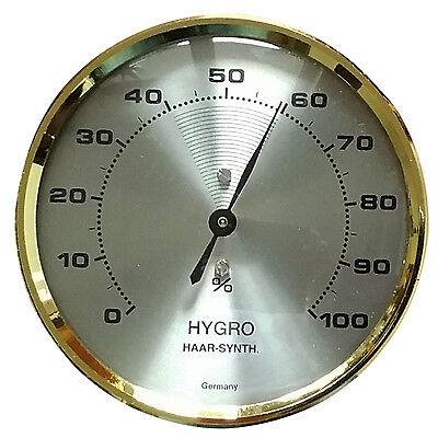Haarhygrometer, Hygrometer, analog, justierbar, sehr präzise (A13)