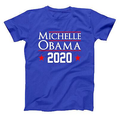 Michelle Obama 2020 Democrat Election Barack Royal Blue Men's T-Shirt