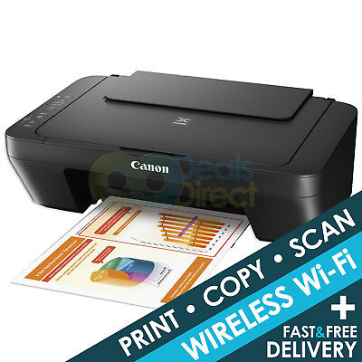 Canon PIXMA MG3050 All-In-One Wireless WiFi Inkjet Printer Only Deal + FREE P&P!