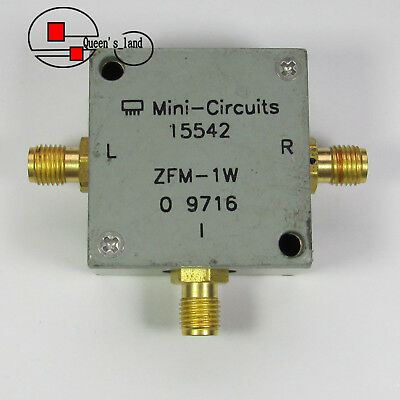 1 Mini-circuits Zfm-1w 10-750mhz Sma Rf Microwave Coaxial Frequency Mixer