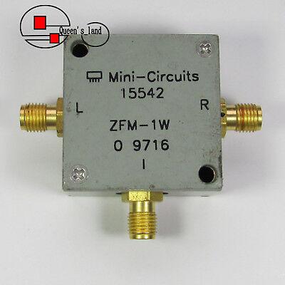 1 Mini-circuits Zfm-1w 10-750mhz Sma Rf Microwave Coaxial Frequency Mixer