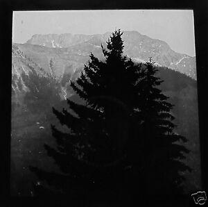 Glass-Magic-lantern-slide-ROCHERS-DE-NAYE-C1920-SWITZERLAND-MOUNTAIN