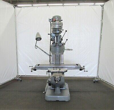 Bridgeport Vertical Ram Type Milling Machine Id M-090