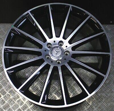 1x Mercedes Alufelge AMG GLE Coupé C292 W166 10Jx22 ET56 A2924011800 Schwarz