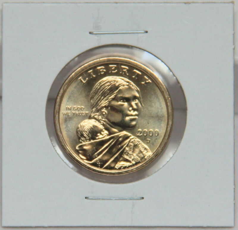 Sacagawea 2000 D Dollar Coin Uncirculated BU Denver