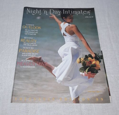 1989 NIGHT 'N DAY INTIMATES SUMMER SALES FASHION LINGERIE CATALOG