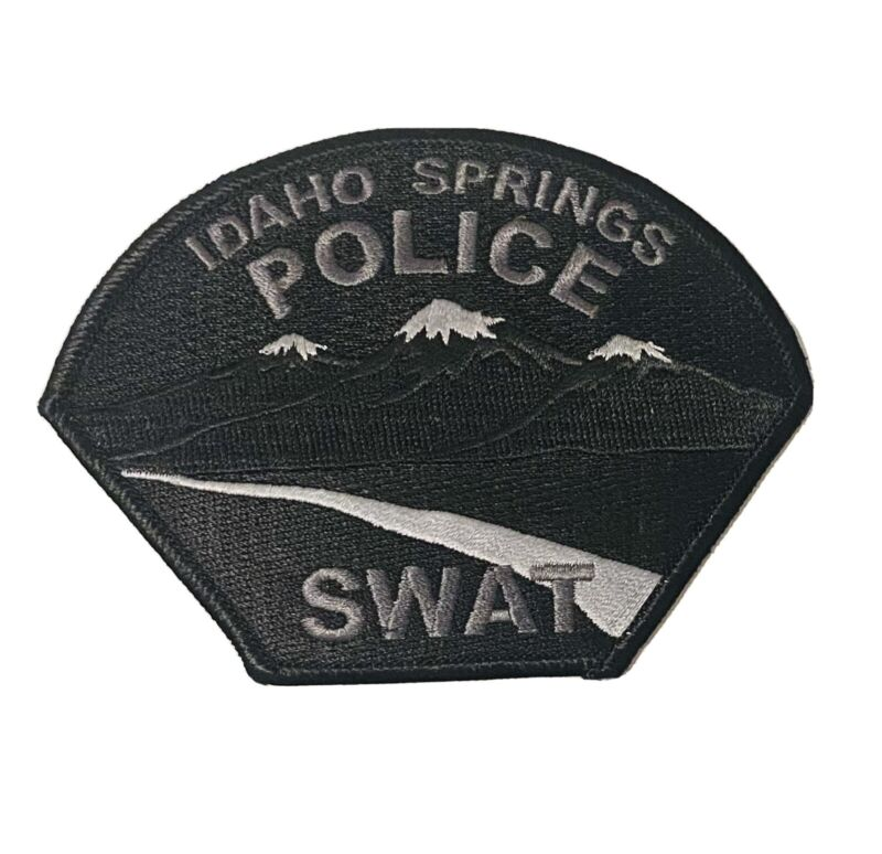 Sought After-Idaho Springs Colorado -SWAT-Police Patch