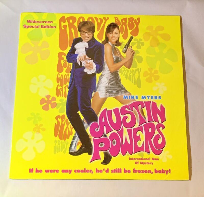 Austin Powers (New Line Cinema, 1997) Laserdisc Widescreen Special Edition LD