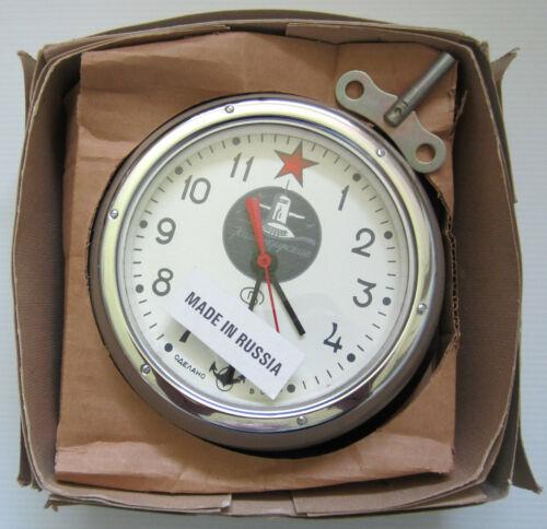 Vintage Russian Soviet CCCP Kauahguyckue Maritime Submarine Clock WORKS GREAT !