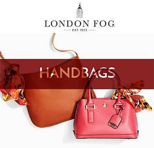 London Fog Satchel & Tote Bags. BRAND NEW!!! 15 Different Styles. Carina Brisbane South East Preview