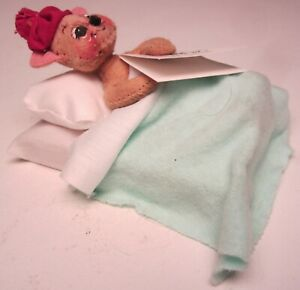 Annalee Christmas 1997 Miniature Get Well Mouse 198697 Get Well Mobility Doll 4