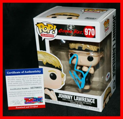 🔥 Rare William Zabka Signed Cobra Kai Karate Kid Johnny Lawrence Funko POP PSA