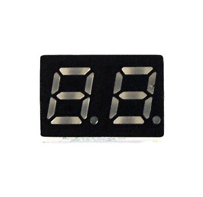 5pc 0.28 7 Segment Dual Digit Ld0285g Green Led Display Cc Lenoo Taiwan