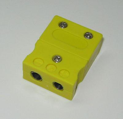 Standard K-type Connector Socket Female F. K-type Thermocouple Wire Sensor Probe