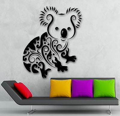 Wall Sticker Vinyl Decal Koala Animal Children's Room Decor (ig1920)