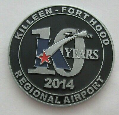 US ARMY KILLEEN - FORT HOOD TX REGIONAL AIRPORT 10yr Anniversary Challenge (Killeen Us)