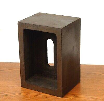 Ustool Std240 Set Up Box Block Right Angle Cast Iron10-14 X 5-34 X 7-18