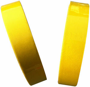 REFLECTIVE TAPE LEMON YELLOW 25MM X 25M WEATHERPROOF STRONG