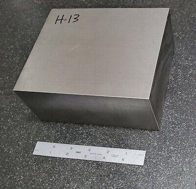 H-13 Tool Steel Flat Stock Machine Shop Die 3 X 5.5 X 6.75 H13