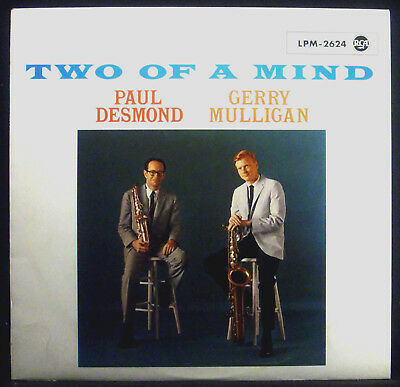 ! LP PAUL DESMOND / GERRY MULLIGAN - two of a mind